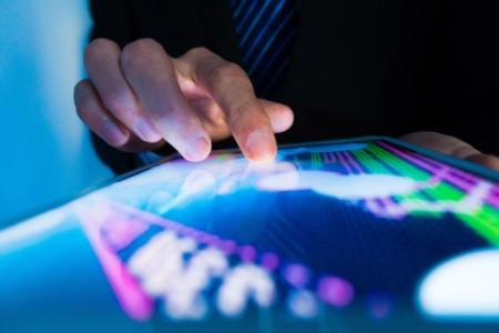 Market Analyze with Digital Moniter