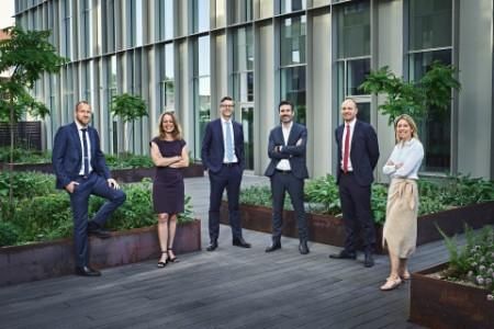 Foto af EY's nyudnævnte partnere