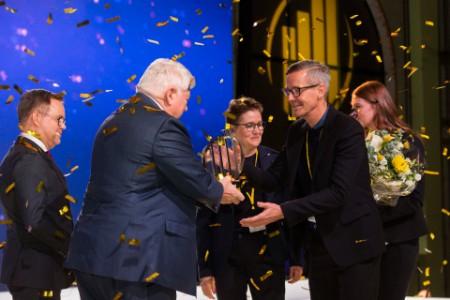 Kvadrat A/S er kåret som dette års EY Entrepreneur Of The Year i Danmark.