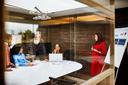 Team i mødelokale