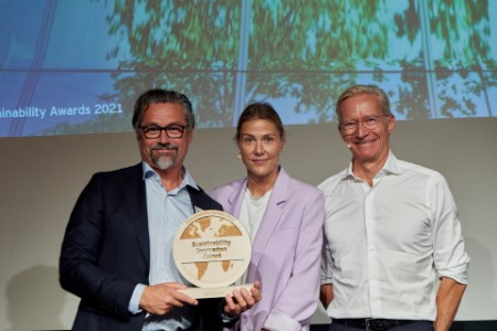 Ege Carpets vinder innovationsprisen i Sustainability Awards 2021