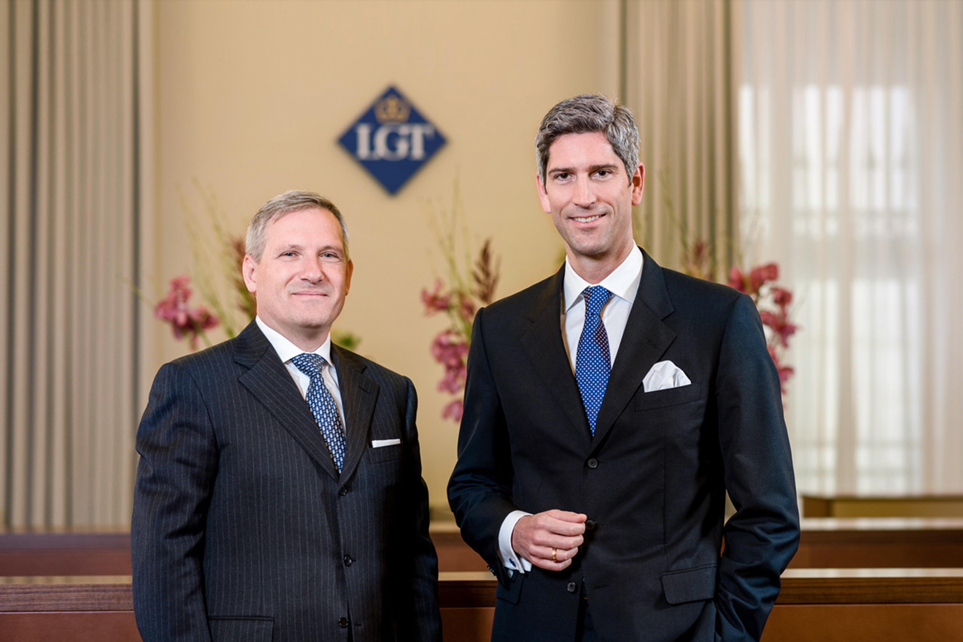 Dietmar Baumgartner und Meinhard Platzer