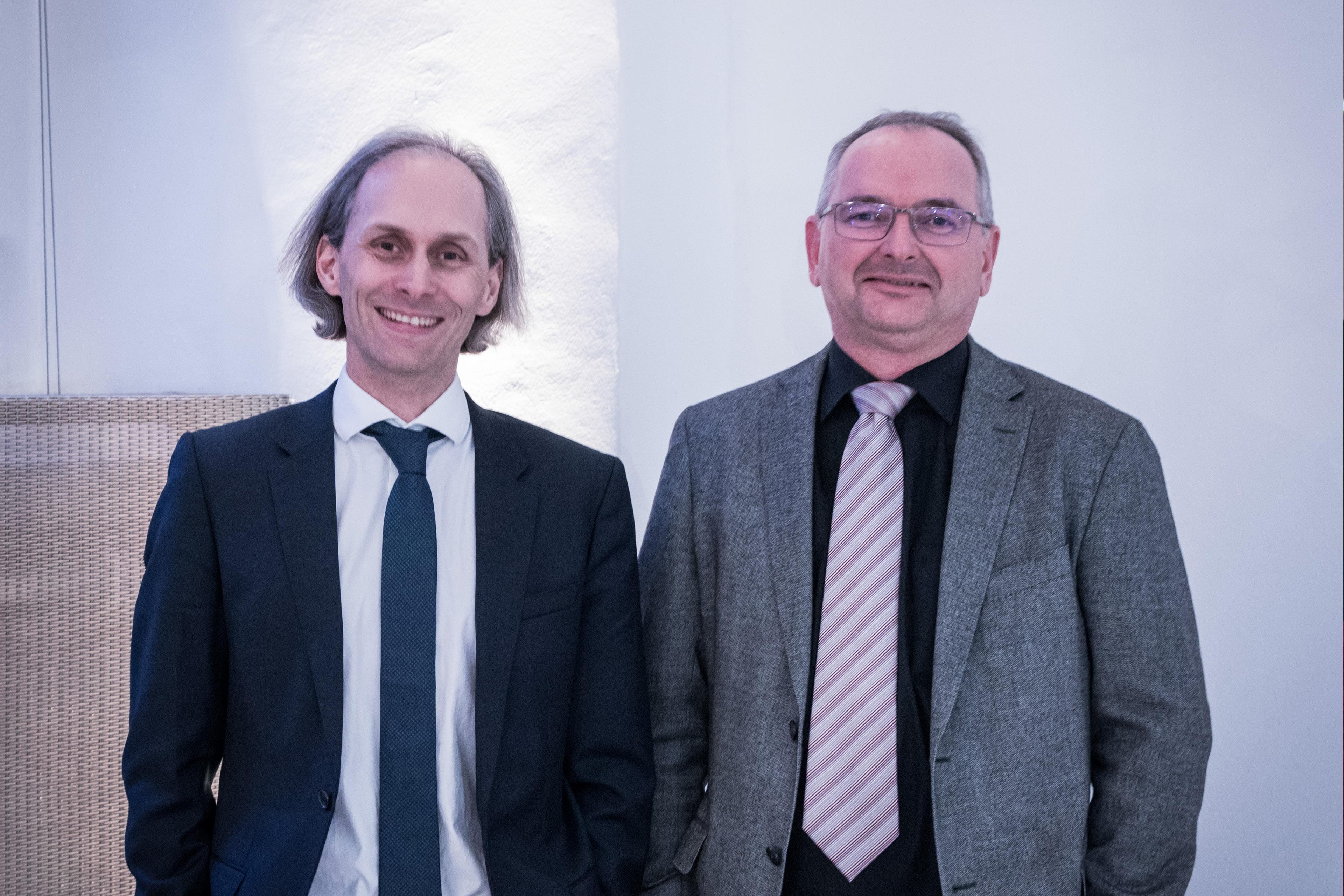Christoph Guger und Günter Edlinger
