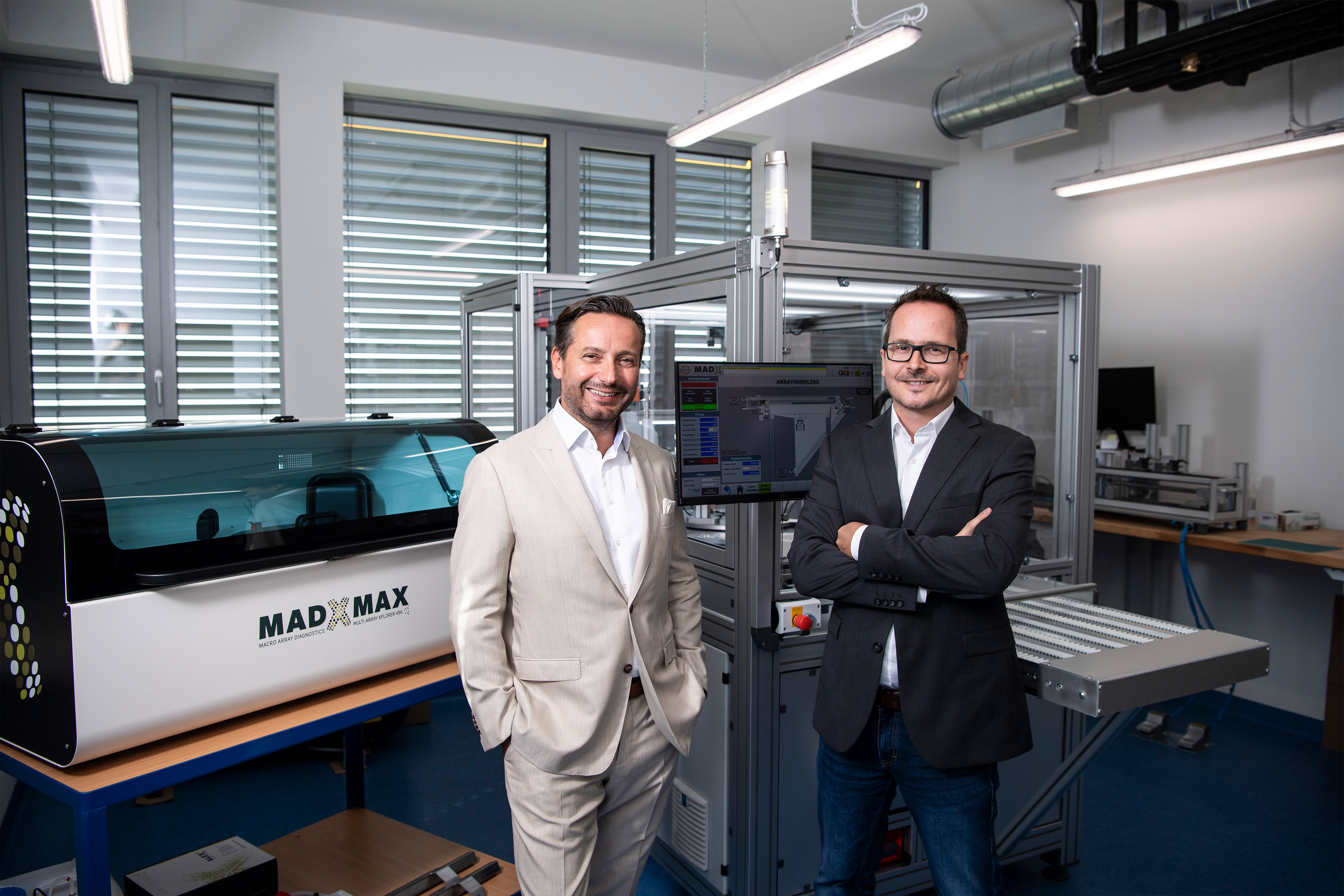 Sascha Dennstedt und Christian Harwanegg