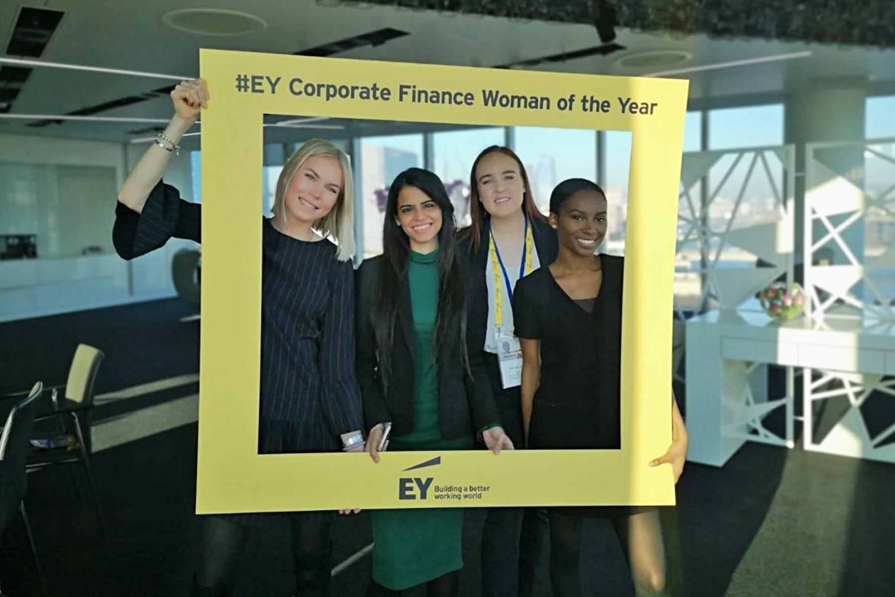Das EY-Event CFWoY für Studentinnen