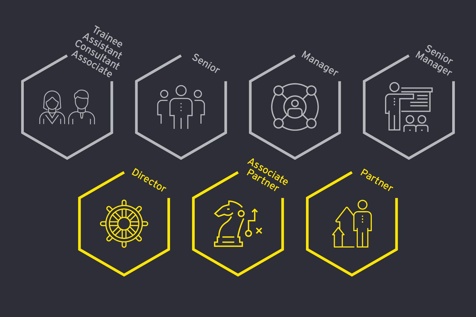 Individuelle Karriereentwicklung @ EY: Infografik