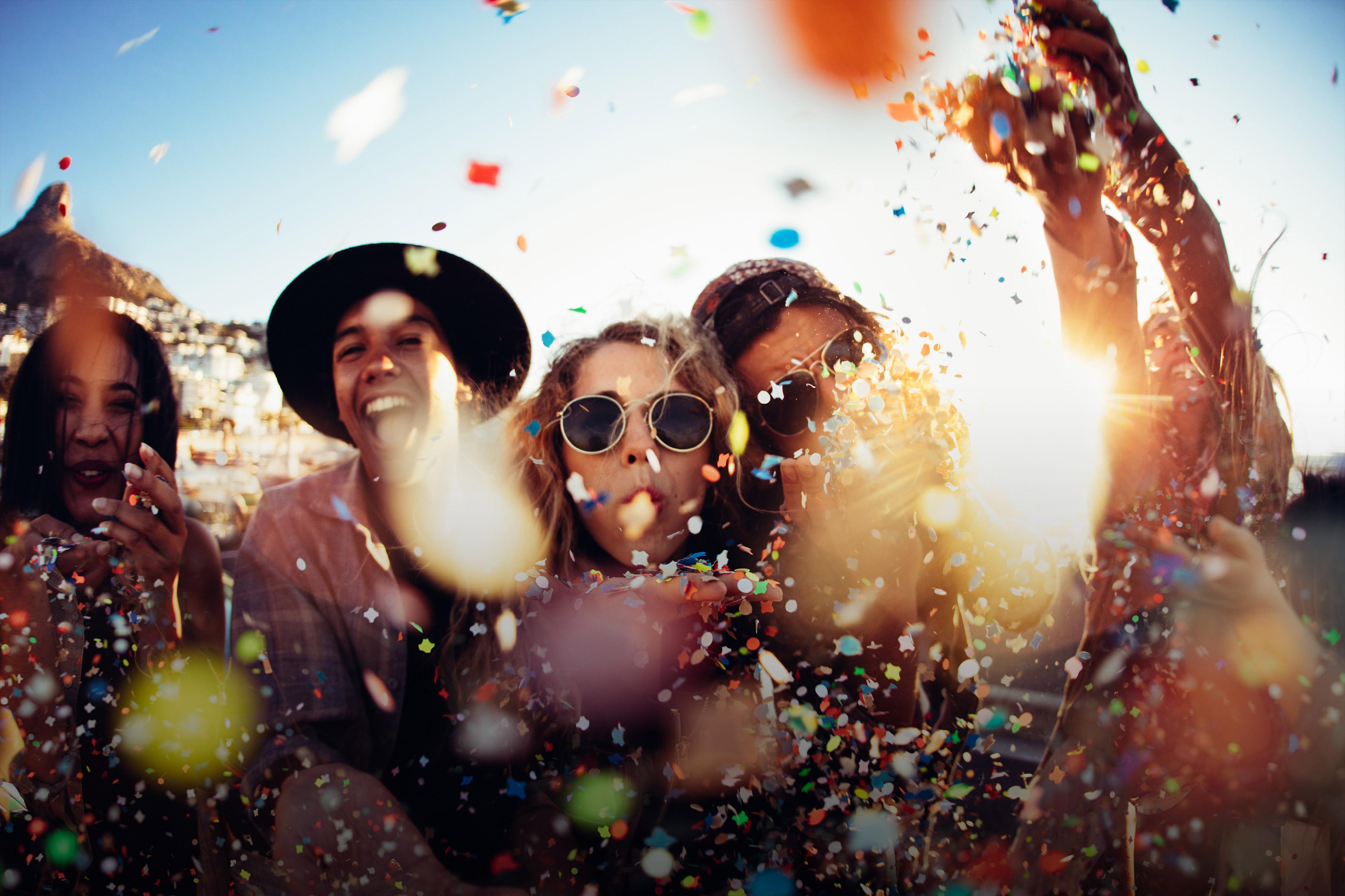 Feiern auf dem New Perspective Festival von EY