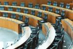 Konferenzraum mit leeren Sitzen