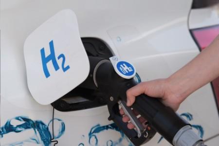 Wassertoffbetankung eines Autos