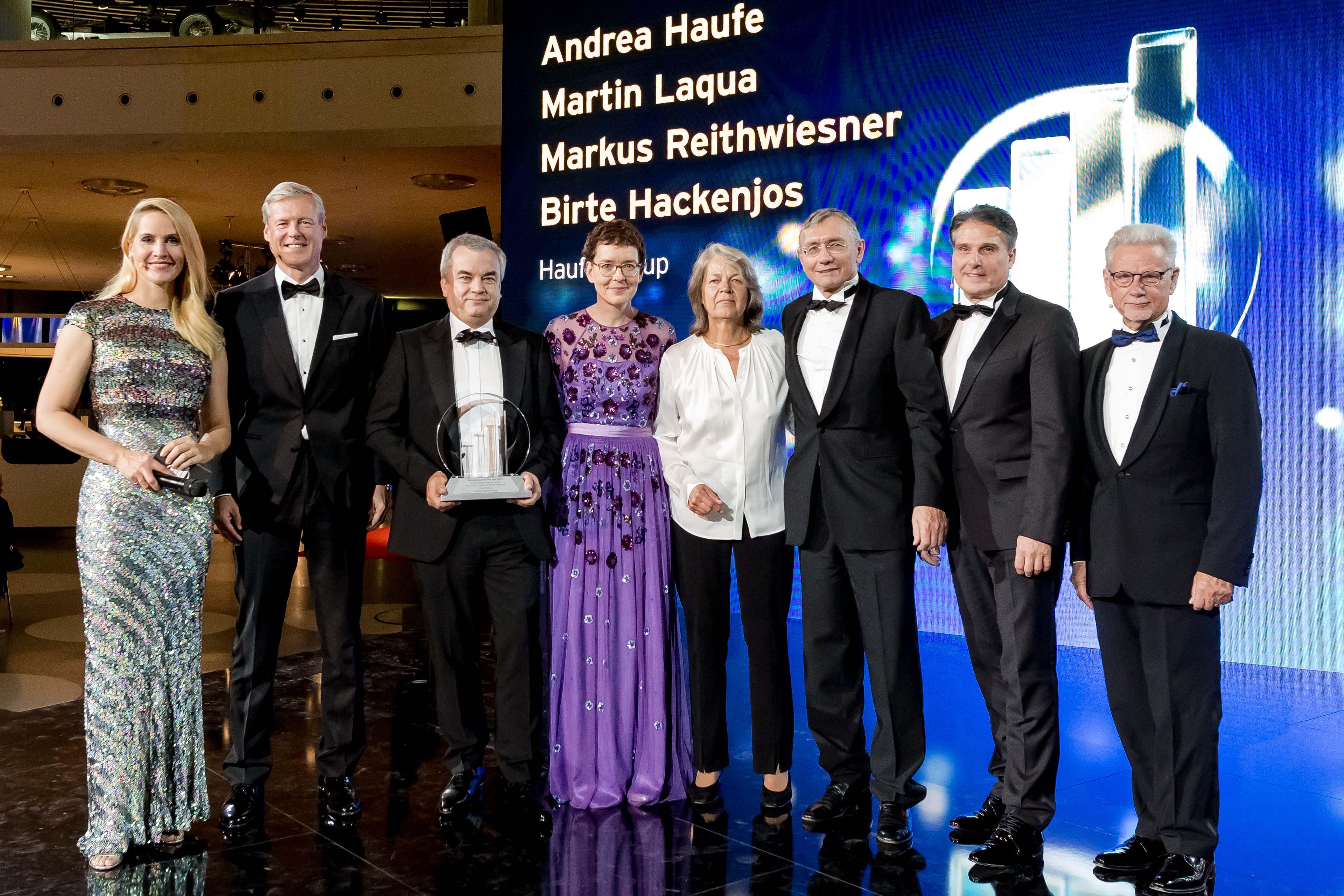 Judith Rakers, Hartmut Jenner, Markus Reithwiesner, Birte Hackenjos, Andrea Haufe, Martin Laqua, Michael Marbler, Dr. Manfred Wittenstein