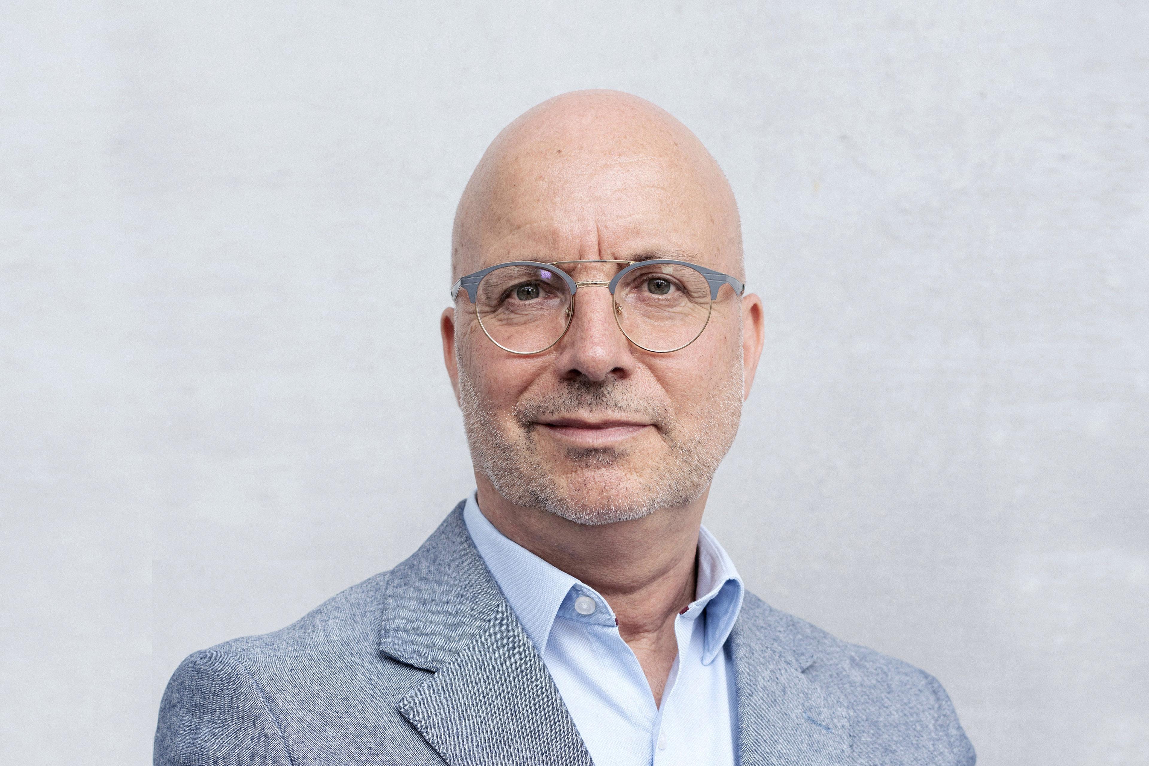 A portrait of Bernhart Schwenk