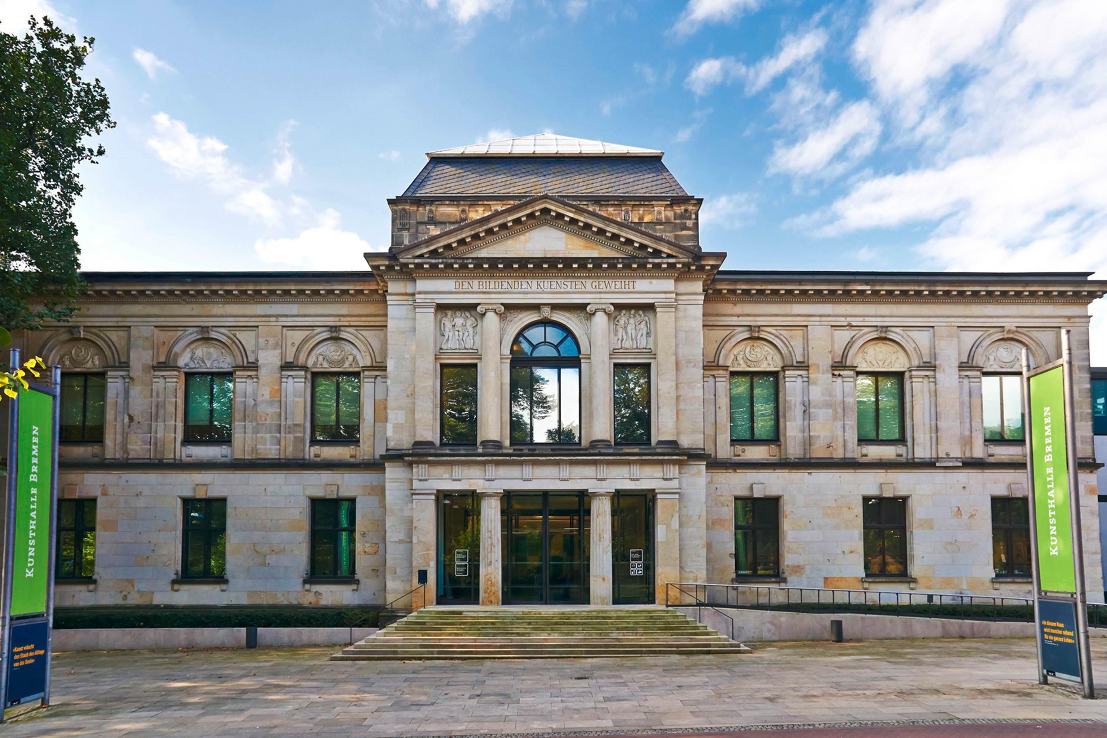 Kunsthalle Bremen, Außenansicht Frontal