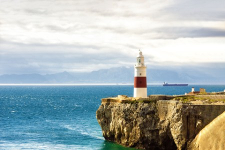Leuchtturm auf einem Felsen