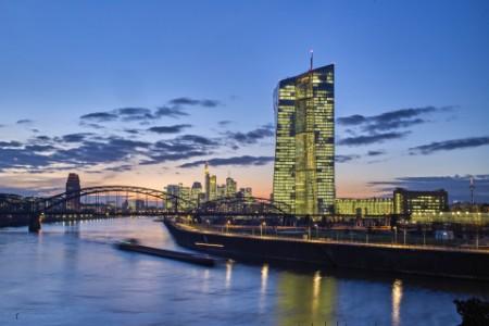 Landschaftsbild der Europäischen Zentralbank