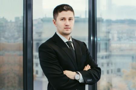 Photographic portrait of Levon Gevorgyan