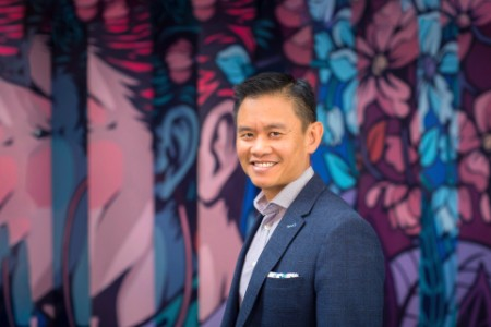 Photographic portrait of Darren Chua