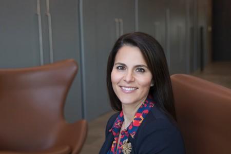 A photographic portrait of Lauren Marcellin