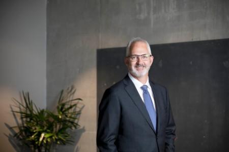 A photographic portrait of Richard Bowman