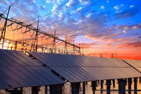 Solar energy pylons