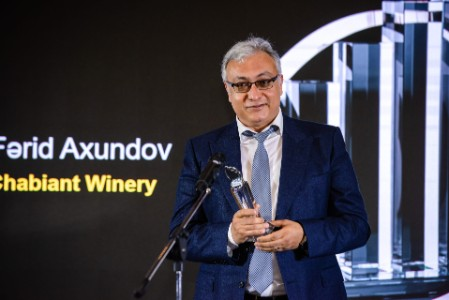 Farid Akhundov, Chabiant Winery, winner in Sustainable Agriculture & Regional Development nomination (2021)