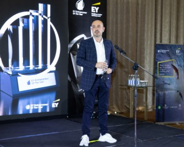 Farid Ismayilzada, GoldenPay, winner in Innovations nomination (2020)