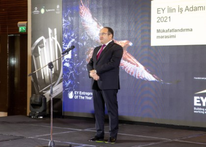 Ilgar Veliyev, EY, Country Managing Partner