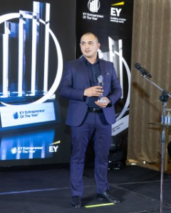 Jamal Khasayev, FRAZEX, winner in Innovations nomination (2021)
