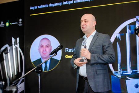Rasim Aliyev, Geothermal Agro, winner in Sustainable Agriculture nomination (2020)