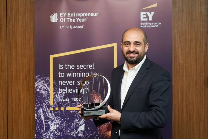 EY Azerbaijan Announces the Winner of the first ever EY Entrepreneur of The Year™ Competition