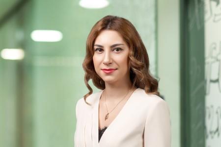 Photographic portrait of Aliya Gadirova