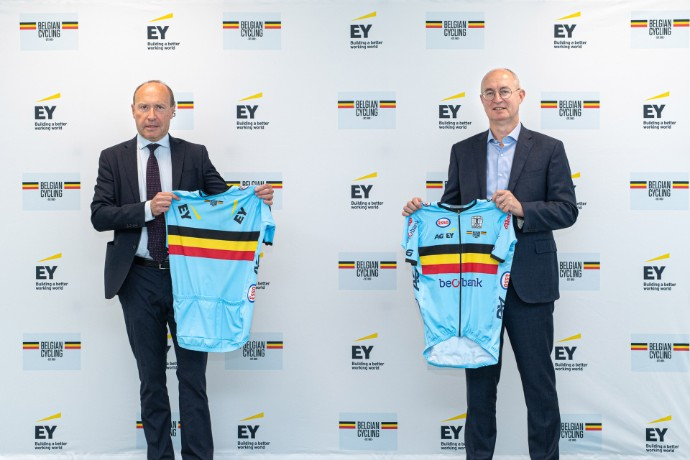 EY becomes Belgian Cycling's new sponsor