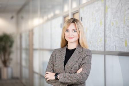 Photographic portrait of Alina Vasiliuk