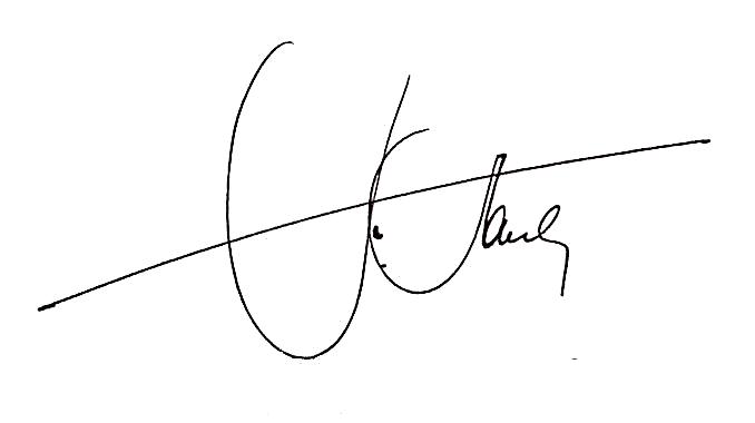 Carmine's signature