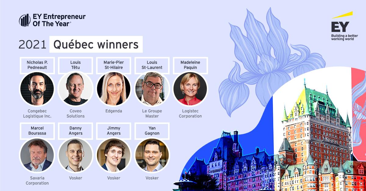 EY Canada Quebec winners