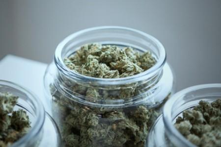 EY - Cannabis in jar