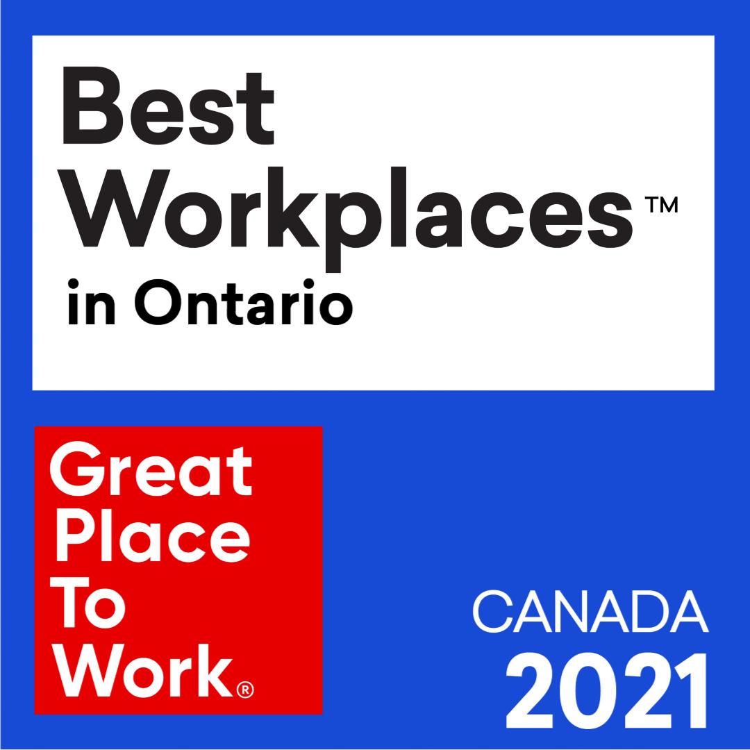 EY - Best Workplaces in Ontario