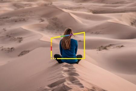 ey woman oasis desert pride