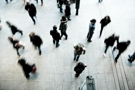 EY - People walking on street