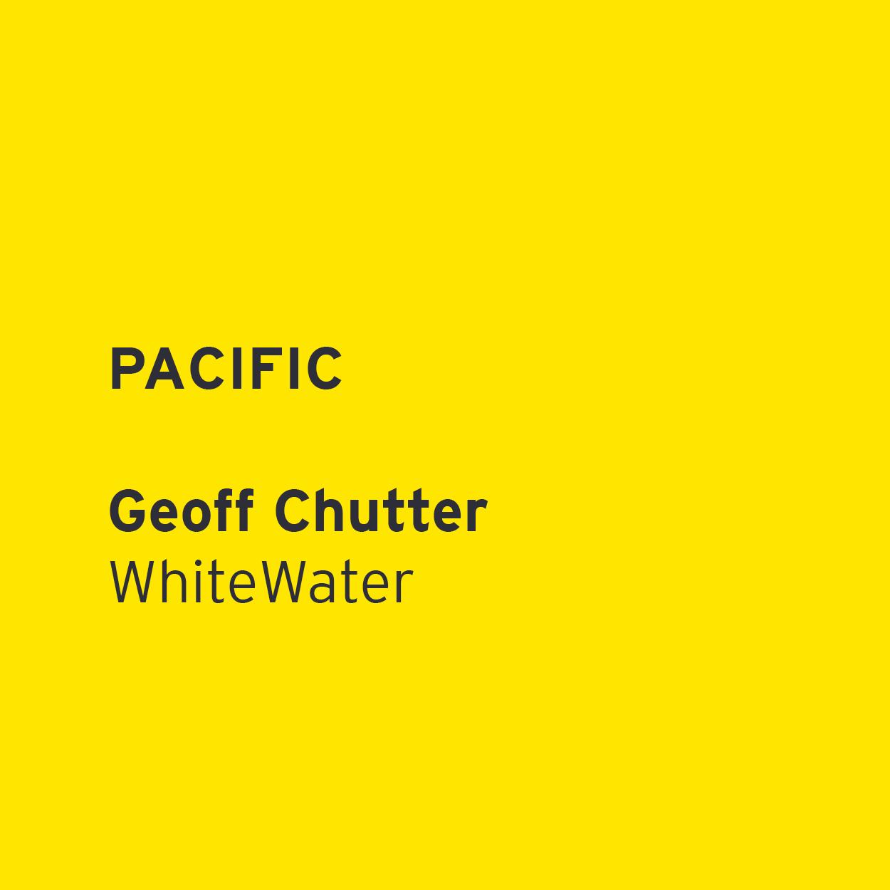Geoff Chutter - WhiteWater