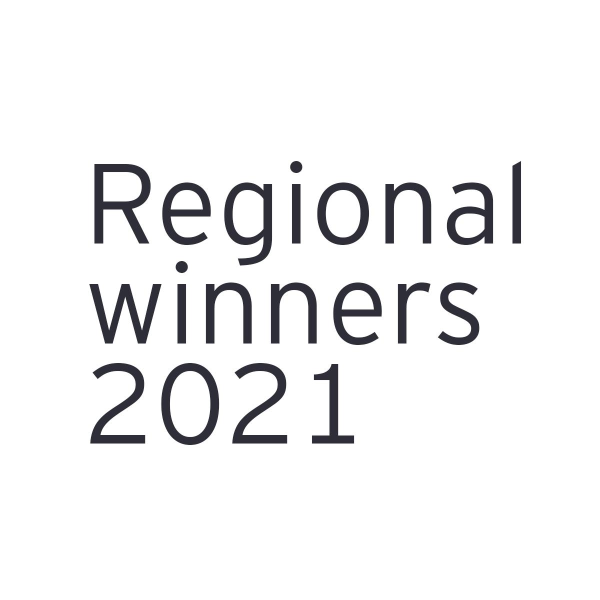 All Regional winners 2021
