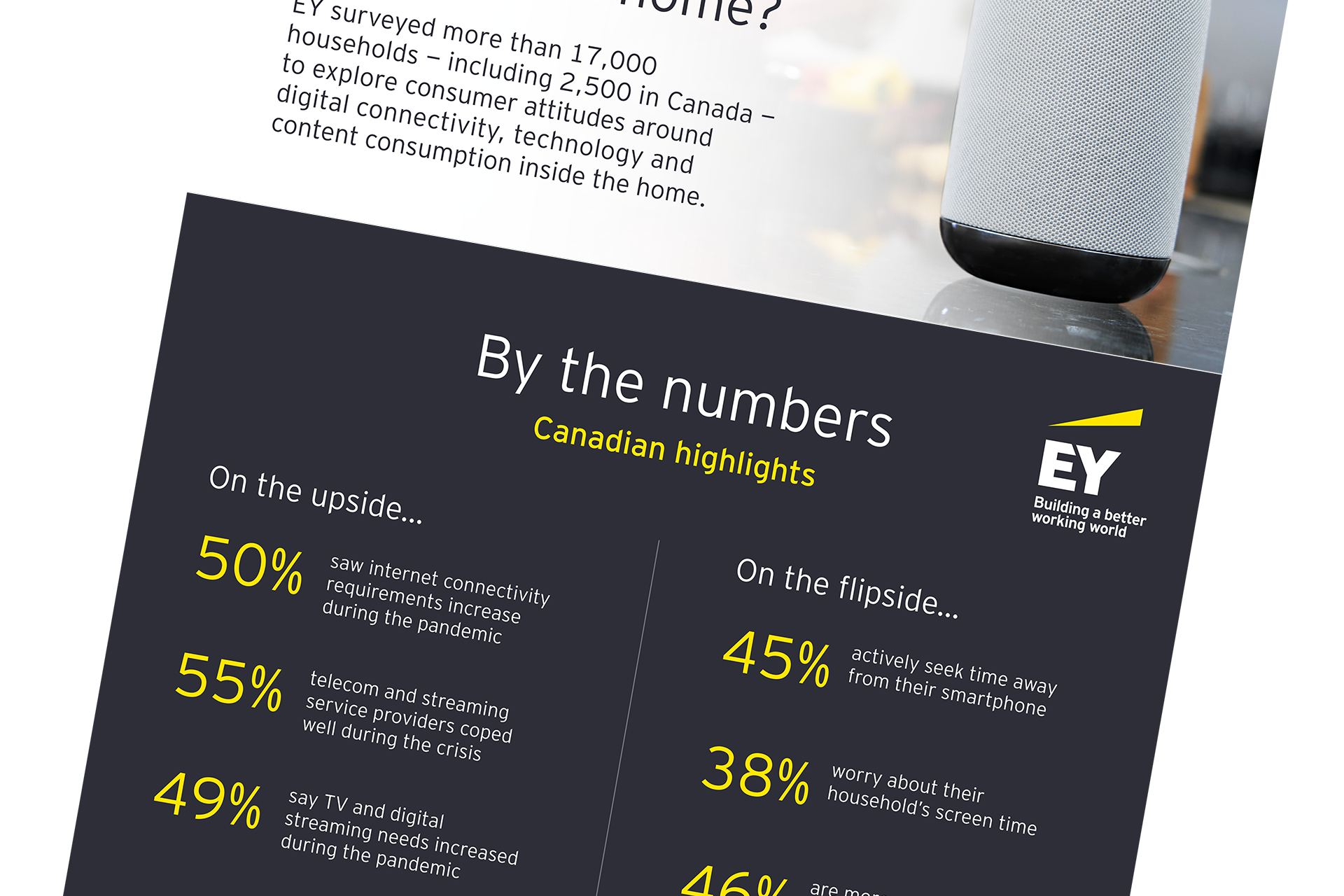 What matters most in the digital home? Infographic