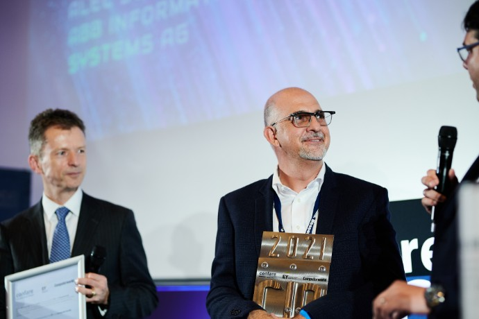 EY and Confare honor the best IT managers in Switzerland