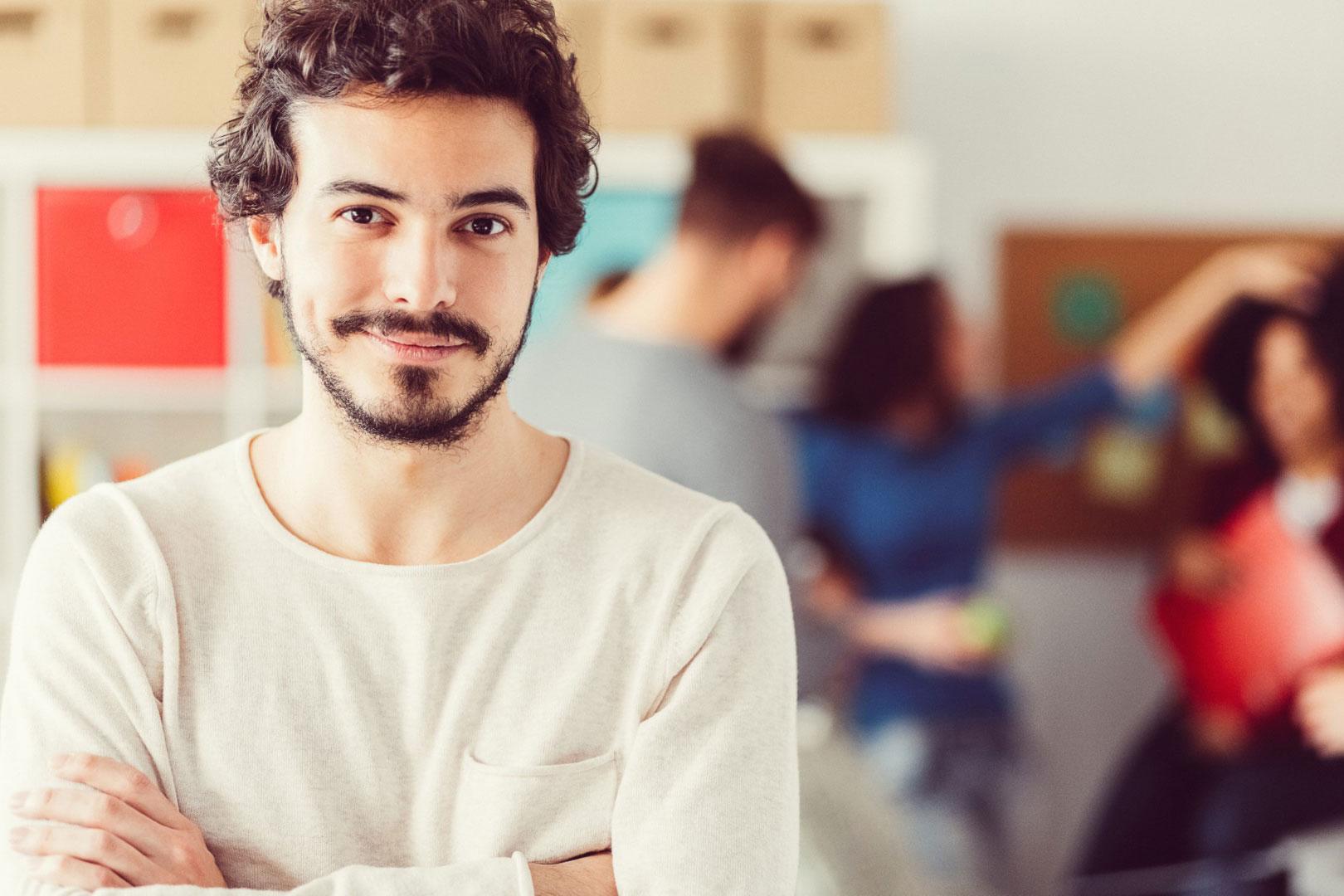 EY Insights – EY-Karriere-Events: Studierende nehmen an Workshop teil