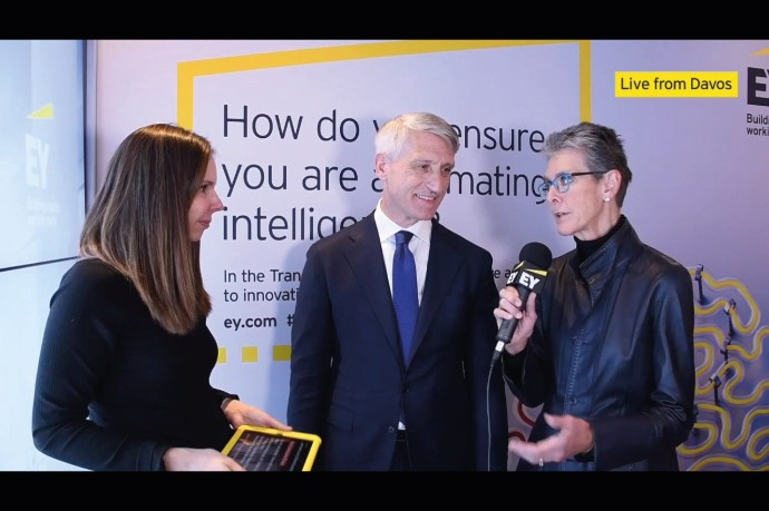Today at WEF: EY's Beth Brooke-Marciniak