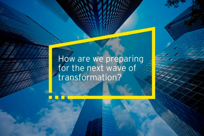 How is EY preparing for the next wave of transformation?