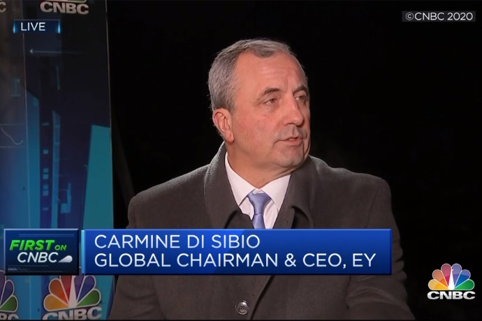 Live from WEF: Carmine Di Sibio on CNBC Europe