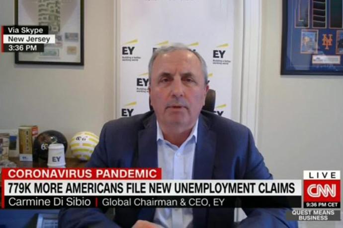 Carmine Di Sibio on CNN