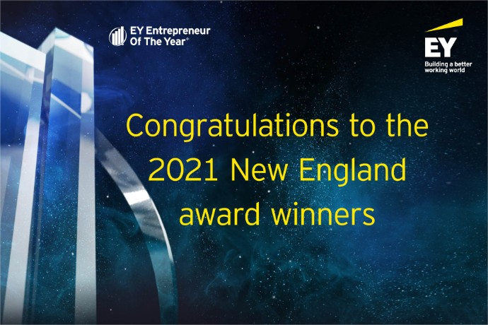 EY Announces Winners for the Entrepreneur Of The Year® 2021 New England Award