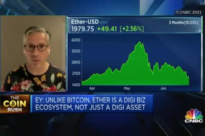 Paul Brody on CNBC Asia – 'Value Propositions' of Different Cryptocurrencies