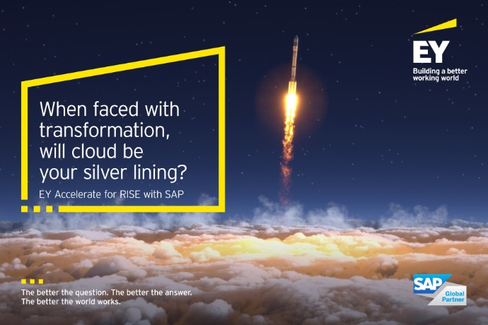 EY Accelerate for RISE with SAP will help organizations create businesses designed for what's next